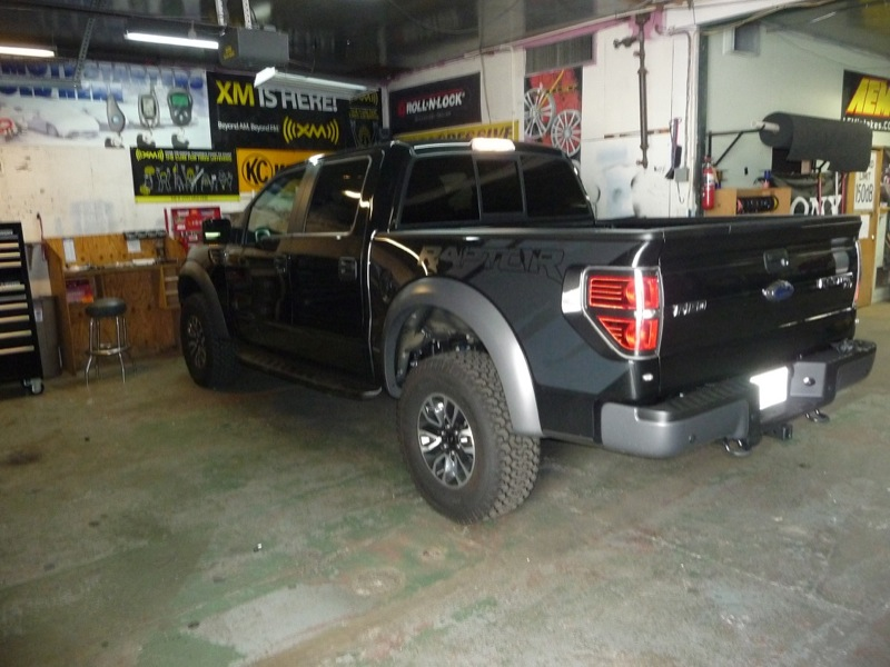 F150 Sound System Upgrade In 2013 Raptor on