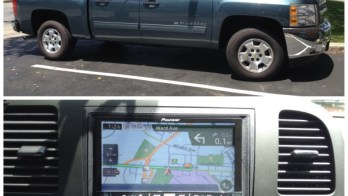 Chevrolet Silverado Outfitted With Navigation System