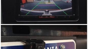 Backup Camera Installed in 2008 Toyota Tundra