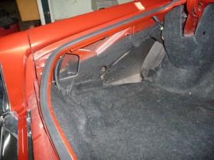 Cadillac Eldorado trunk