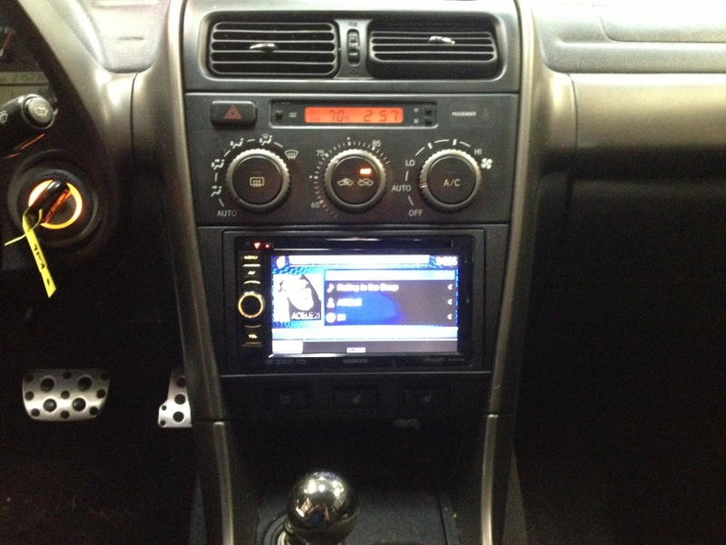 Kenwood Touchscreen Is Part 1 Of This IS300 Project. Lexus Stereo Upgrade