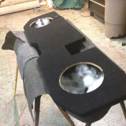 Dodge Ram Custom Subwoofer Enclosure