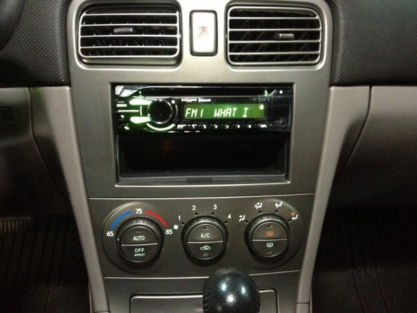 Subaru Forester Replacement Radio Westminster Speed
