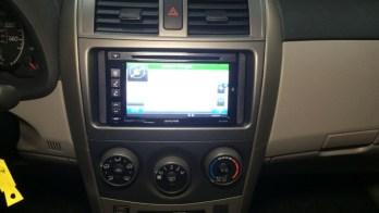 Toyota Corolla Navigation System Upgrade For Westminster Car Dealer