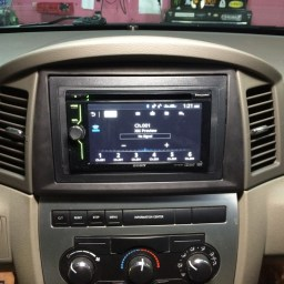 Jeep in-dash DVD
