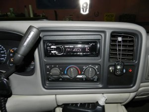 Chevy Suburban Audio Upgrade