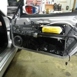 Porsche Door panel
