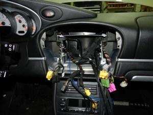 Porsche Radio removed