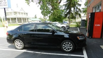 Jetta Window Tint Project Uses 35% Raven Film