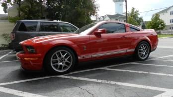 Shelby GT500 Gets Dark Matter Window Tint