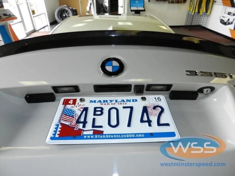 BMW 335i Backup Camera