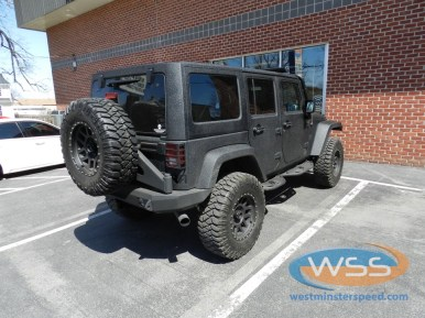 [DHAV_9290]  Hanover Jeep Wrangler Unlimited Adds Hitch And Wiring   2015 Jeep Wrangler Unlimited Wiring      Westminster Speed and Sound