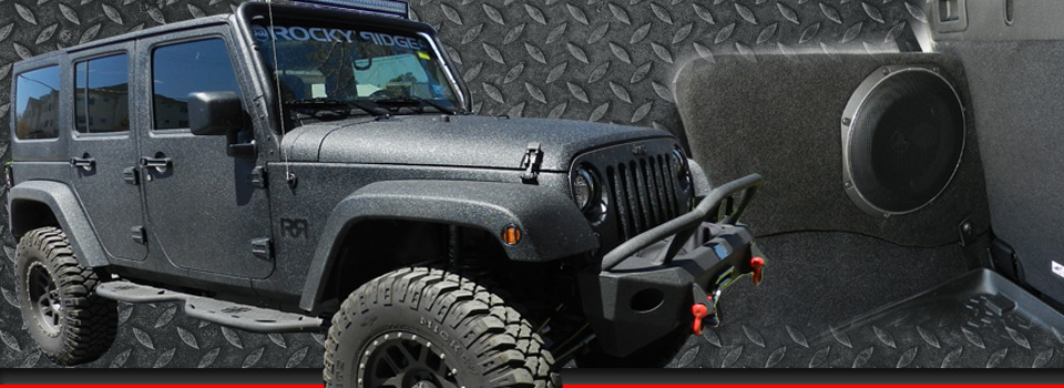 Jeep Wrangler Audio Upgrades And More For Westminster Client
