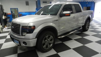Baltimore Client Gets Ford F150 Stealth Stereo System