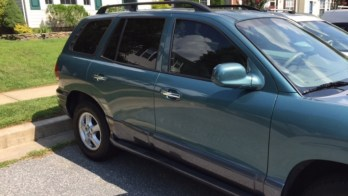 Santa Fe Window Tint and HID Lights For Reisterstown Client