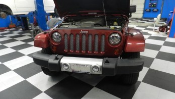 New Lighting And Grille For Westminster Jeep Wrangler Client