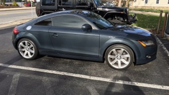 Reisterstown Audi TT Styled with Dark Matter Window Tint