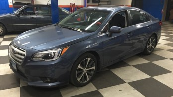 Repeat Towson Client Upgrades Another Subaru Legacy Stereo System