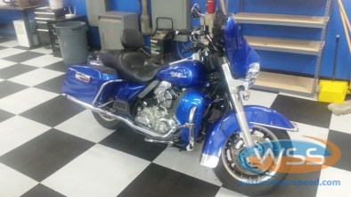 View 1 of this gorgeous Street Glide that now has a sound system to match it's looks.