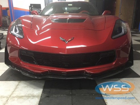 Corvette Z06 Custom Radar