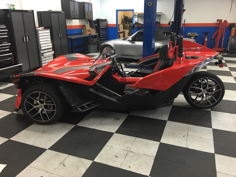 2016 Polaris Slingshot Stereo System Upgrade For Hanover