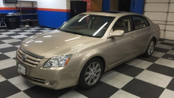 2005 Toyota Avalon from Westminster Gets Backup Camera System