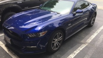 2016 Ford Mustang from Dundalk Visits WSS for Premium Window Tint
