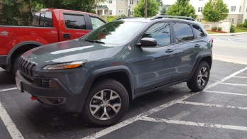 2014 Jeep Cherokee Backup Camera Solution for Taneytown Client