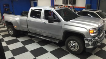 New Windsor Client Gets Chevy Silverado 3500 Audio Upgrade