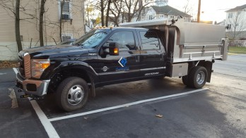 Radio and Backup Camera for Finksburg Ford F-350 Client