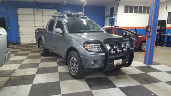 Repeat Baltimore Client Upgrades Nissan Frontier Lighting
