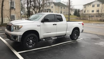 Manchester Toyota Client Adds Tundra Wheels, Tires And Leveling Kit
