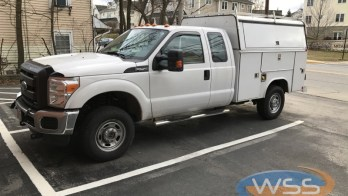 Ford F-250 Radio Upgrade For Westminster Client