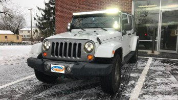 Owings Mills Client Comes To WSS For Jeep Wrangler Unlimited Lighting Upgrades
