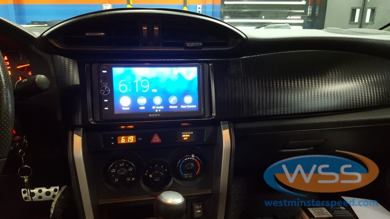 Baltimore Client Comes To WSS To Add CarPlay To Scion FR-S
