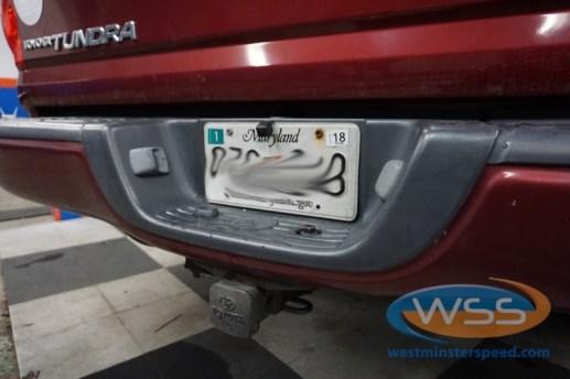 Toyota Tundra Backup Camera