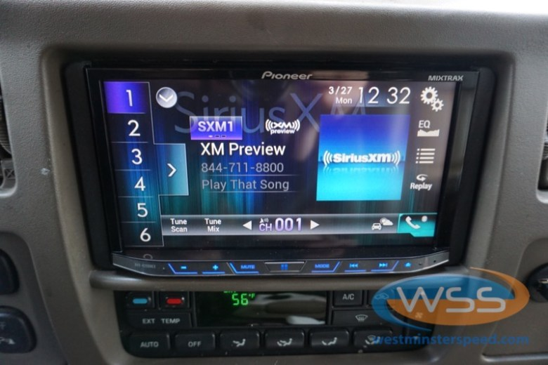 Ford Excursion Radio Upgrade With Carplay For Westminster Client
