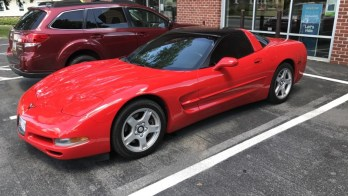 Chevy Corvette Window Tint Protects Westminster Client's Car