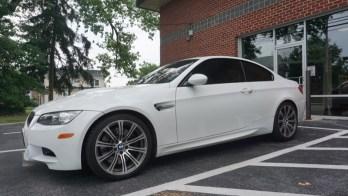 BMW M3 Window Tint for Finksburg Client