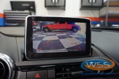 Mazda Miata Backup Camera