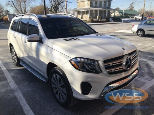 Mercedes benz gl450 window tint for westminster client for Mercedes benz window tint