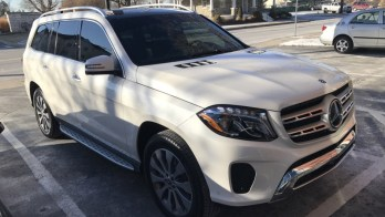 Mercedes-Benz GL450 Window Tint for Westminster Client