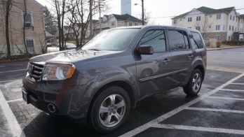 Baltimore Client Chooses 2015 Honda Pilot Overhead DVD Upgrade