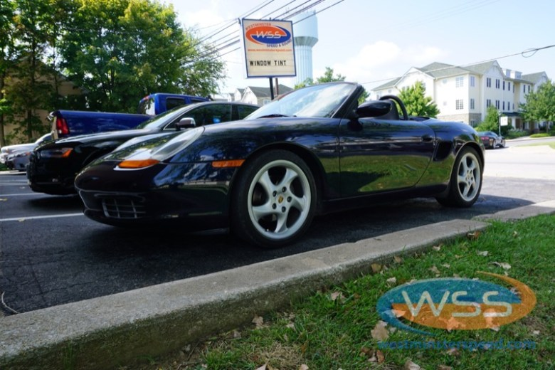 Porsche Boxster Stereo