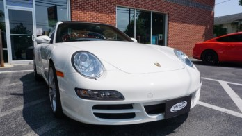 Porsche 911 Paint Protection Film and Audio Upgrades for Baltimore Client