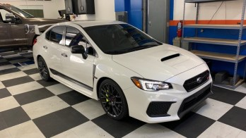 Client Adds Tint and Paint Protection to 2019 Subaru WRX STi
