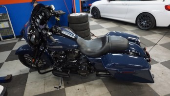 Dundalk Client Gets Impressive Stereo Upgrade in Harley Street Glide