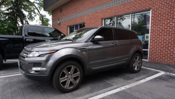 Dark Matter Window Tint Upgrade for 2015 Range Rover Evoque