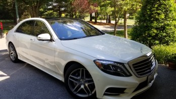 Radar Detector and Tint for Sykesville Mercedes S550
