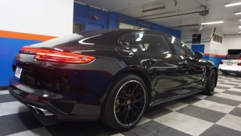Complete Paint Protection Film Install for Finksburg Porsche Panamera